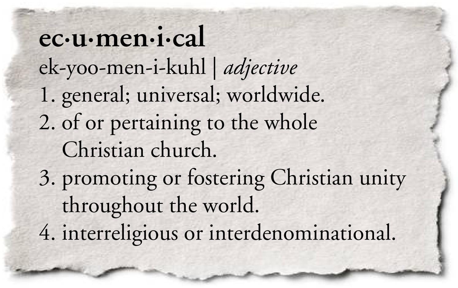 ecumenical definition