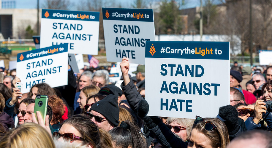 Standing strong against hate