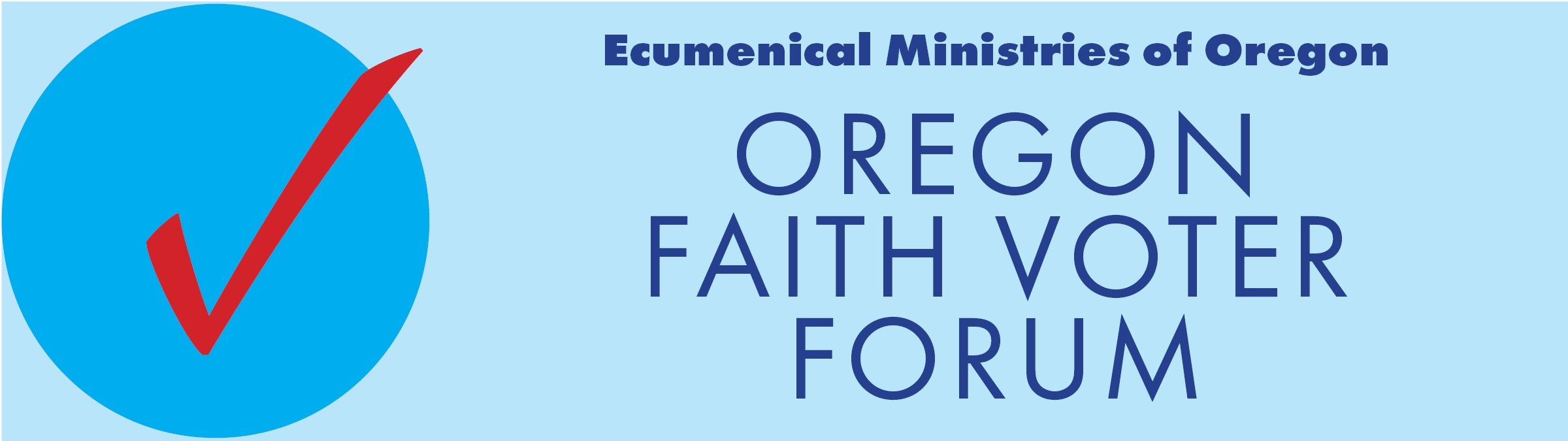 Oregon Faith Voter Forum