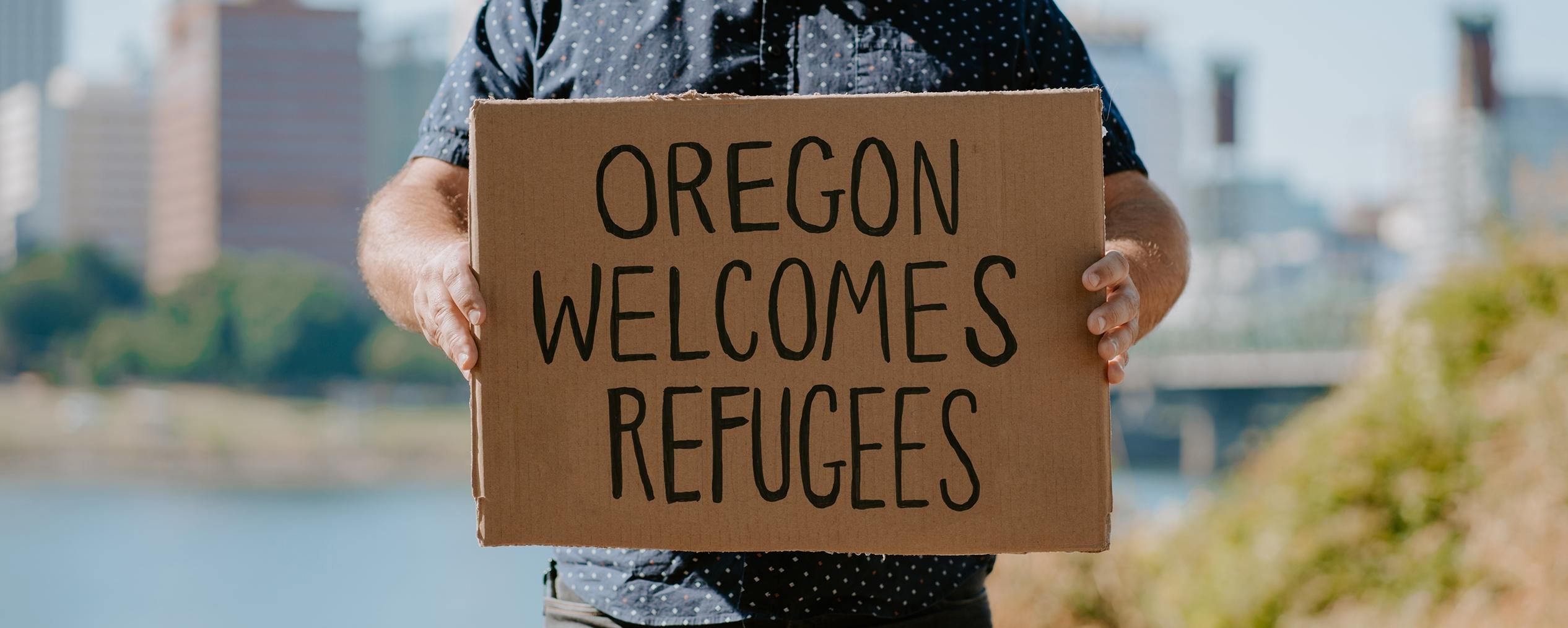 Oregon welcomes refugees